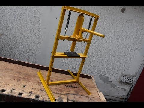 DIY | Hydraulic press