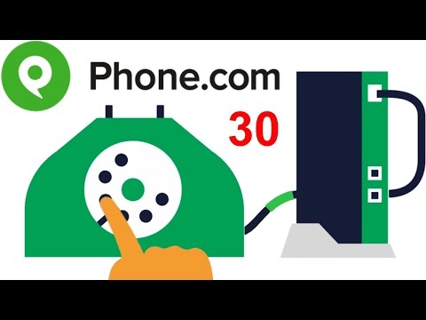 Phone.com Cloud-Based Business Phone Service 30: Virtual PBX for Small Business