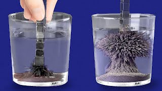 EXTREMELY COOL EXPERIMENTS to satisfy your senses