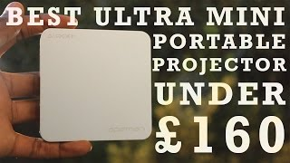Best Ultra Mini Projector Under £160 - APEMAN M4 Pico Projector - Unboxing And Review (HD)