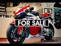 Honda RC213V-S V4 RCV Most EXPENSIVE Superbike ever built 1st customer delivered