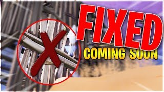2 Walls For the Price of 1! FIX Coming In Fortnite Update 7.20