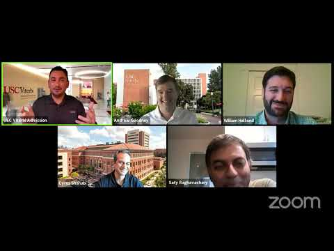 USC Viterbi Computer Science Faculty Roundtable - Fall 2020