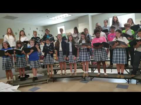 Assumption Middle School Glee Club video 2