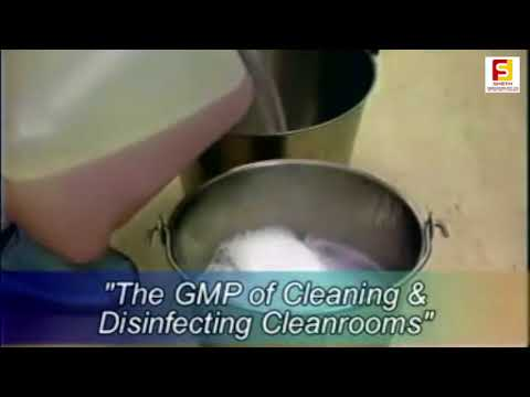 Disinfecting and Cleaning Pharma Clean Room