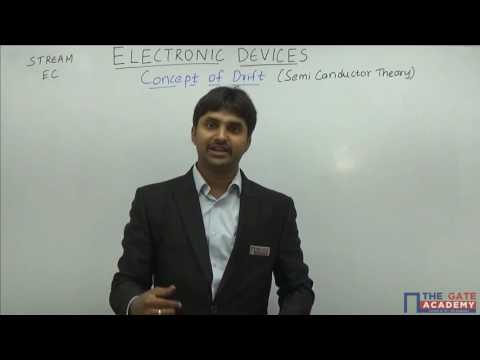 Concept of Drift | Electronics Device and Circuits | GATE Preparation Lectures | EC
