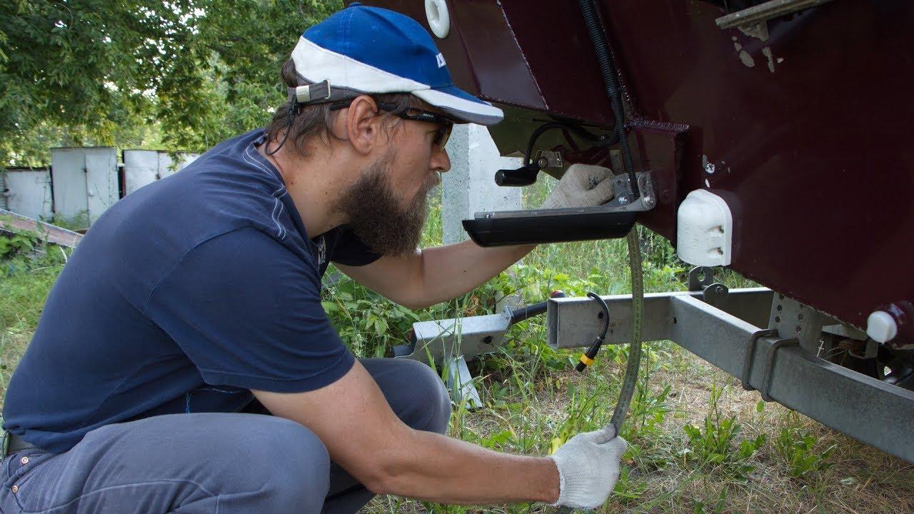 Как правильно установить датчики Lowrance на примере Windboat 50 EVO Fish