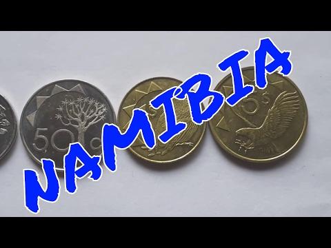 Namibian coins