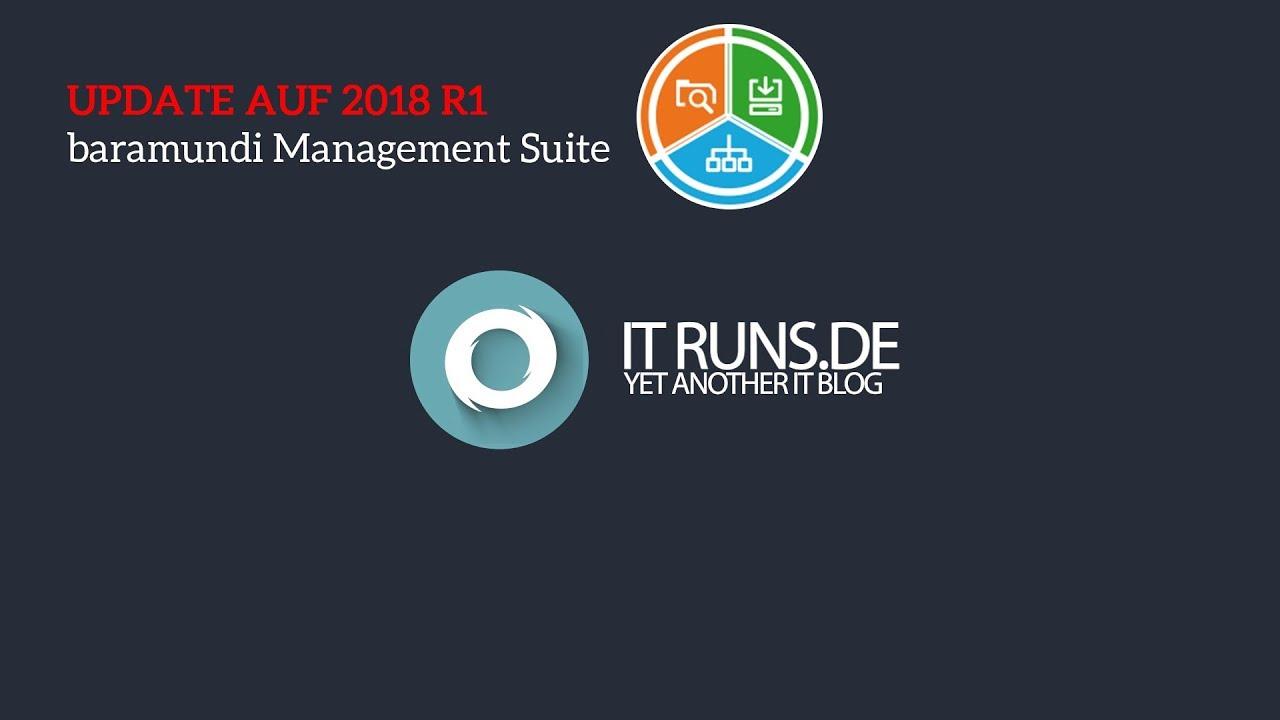Baramundi Management Suite Update 2018 R1 Tutorial Deutsch