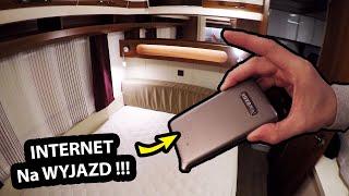 Jaki Internet zabieram w Podróż? - Pakujemy Przyczepę Kempingową !!! - (Vlog #359)