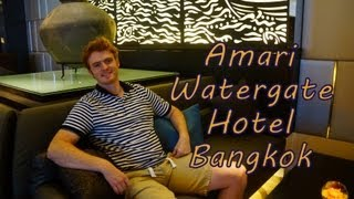 Our stay at the luxurious Amari Watergate Hotel located in Bangkok Thailand