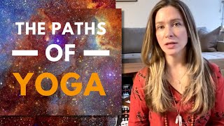 VEDANTA: 4 PATHS OF YOGA (How Can Yoga Philosophy Help You in Difficult Times) | Yogini Claudia