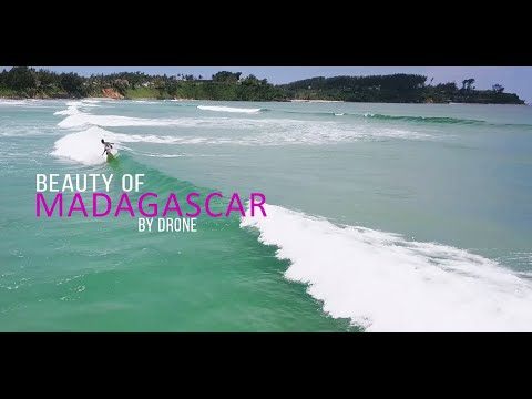 Beauty of madagascar by drone #08 Amboasary / Fort-Dauphin