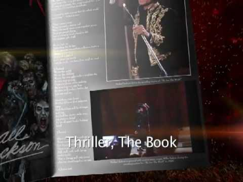 """Michael Jackson's OFFICIAL Thriller 25 - Anniversary Book 1'30"""" Commercial"""