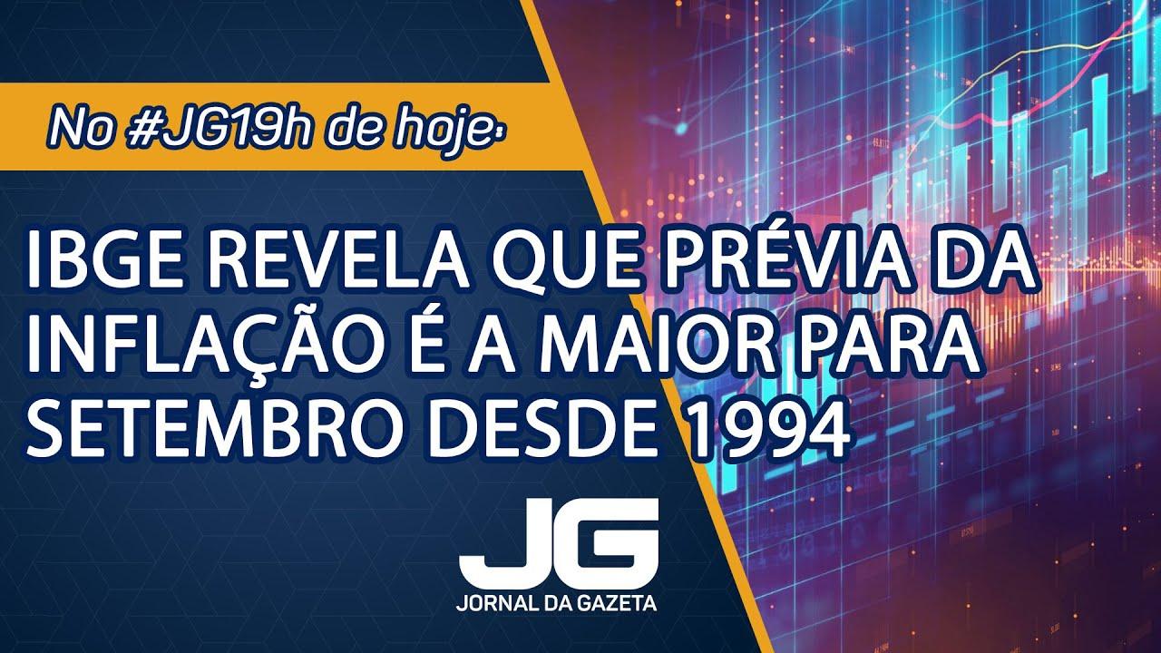 IBGE revela que prévia da inflação é a maior para setembro desde 1994 –Jornal da Gazeta – 24/09/2021