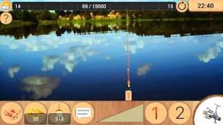 Реальная рыбалка игра на Android №16 Конец