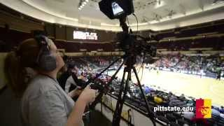Sports Broadcasting students help MIAA in KC