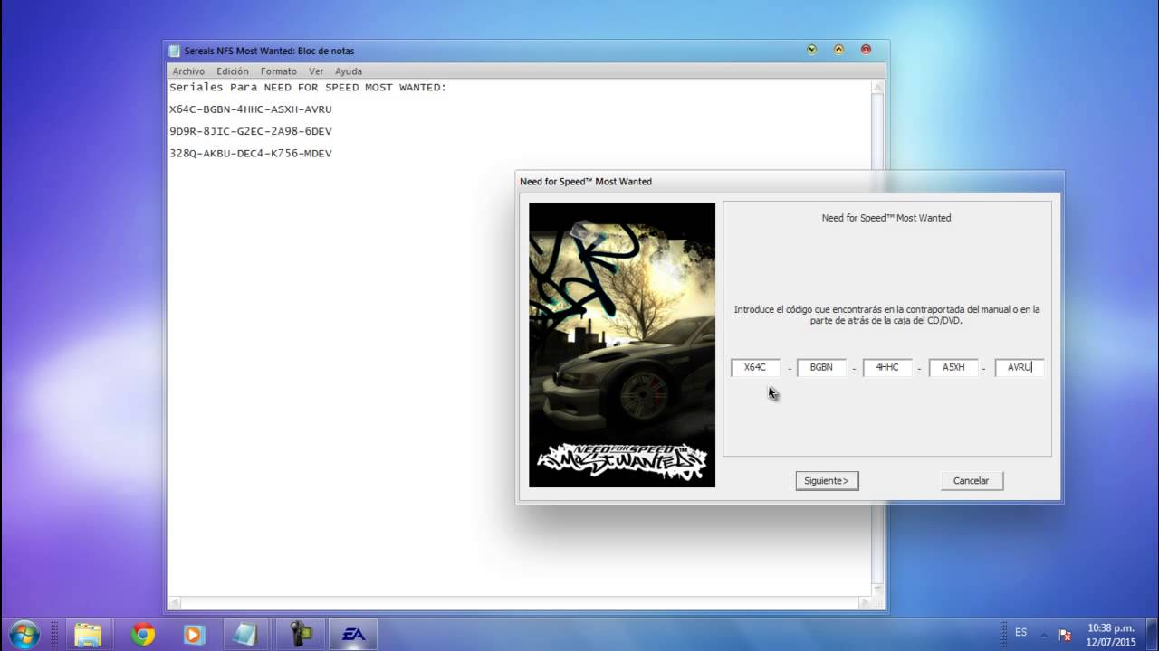 Como descargar e instalar need for speed most wanted para Nfs most wanted para pc