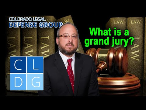How do grand juries and indictments work in Colorado?