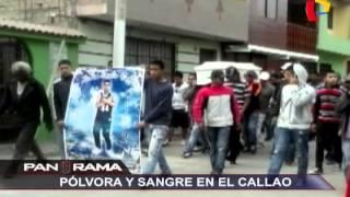 Pólvora y sangre en el Callao: nueva guerra en las calles del primer puerto