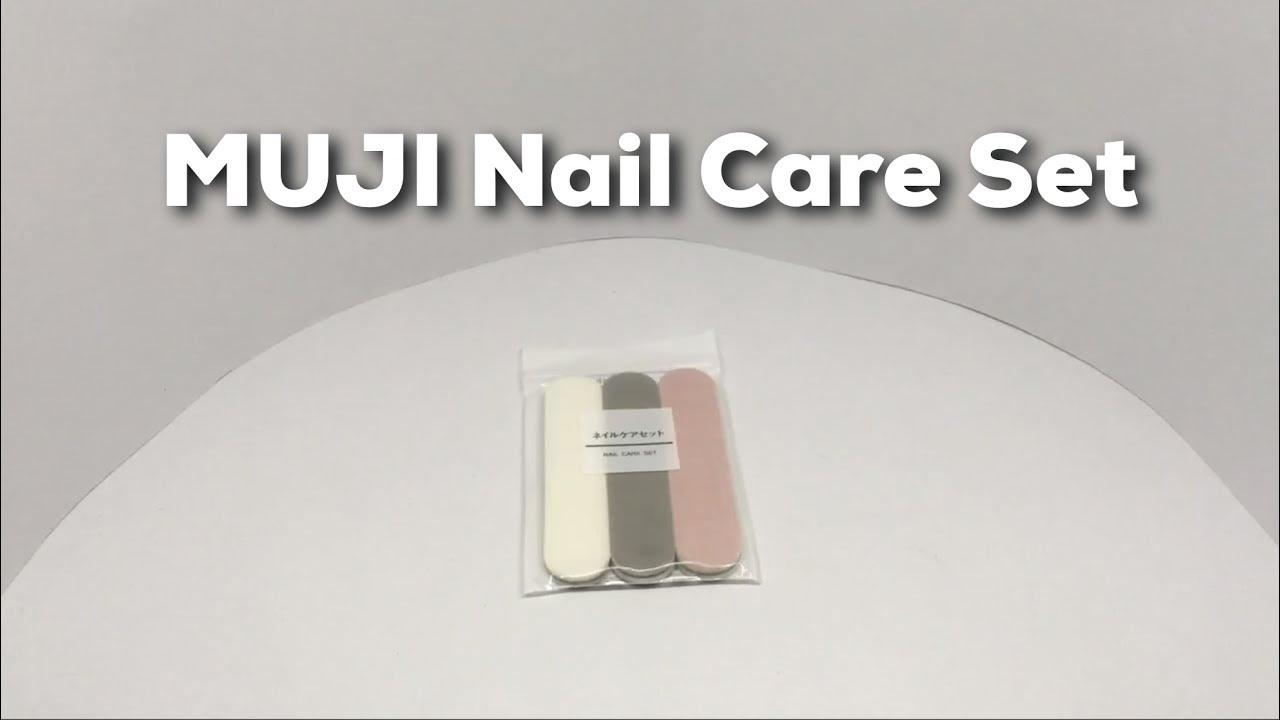 MUJI Nail Care Kit - YouTube