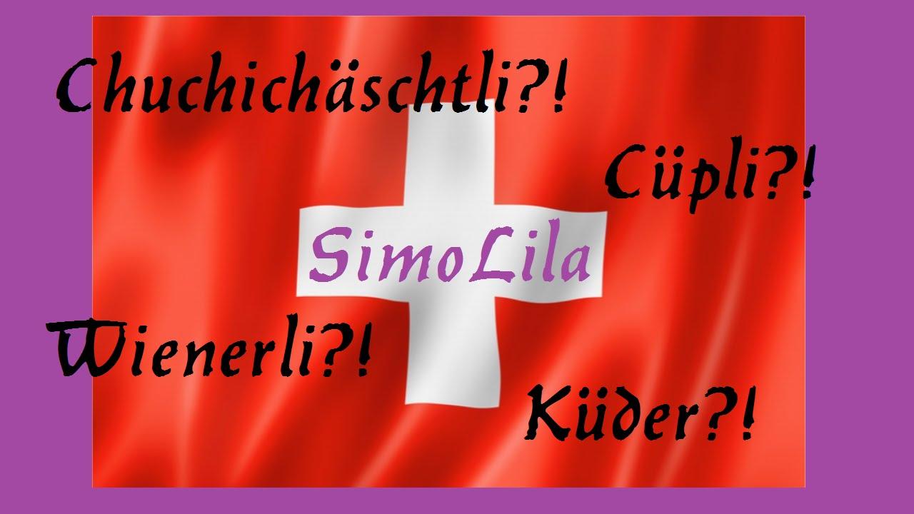 Schweizer Dialekte vs Deutsch ¦¦ SimoLila - YouTube