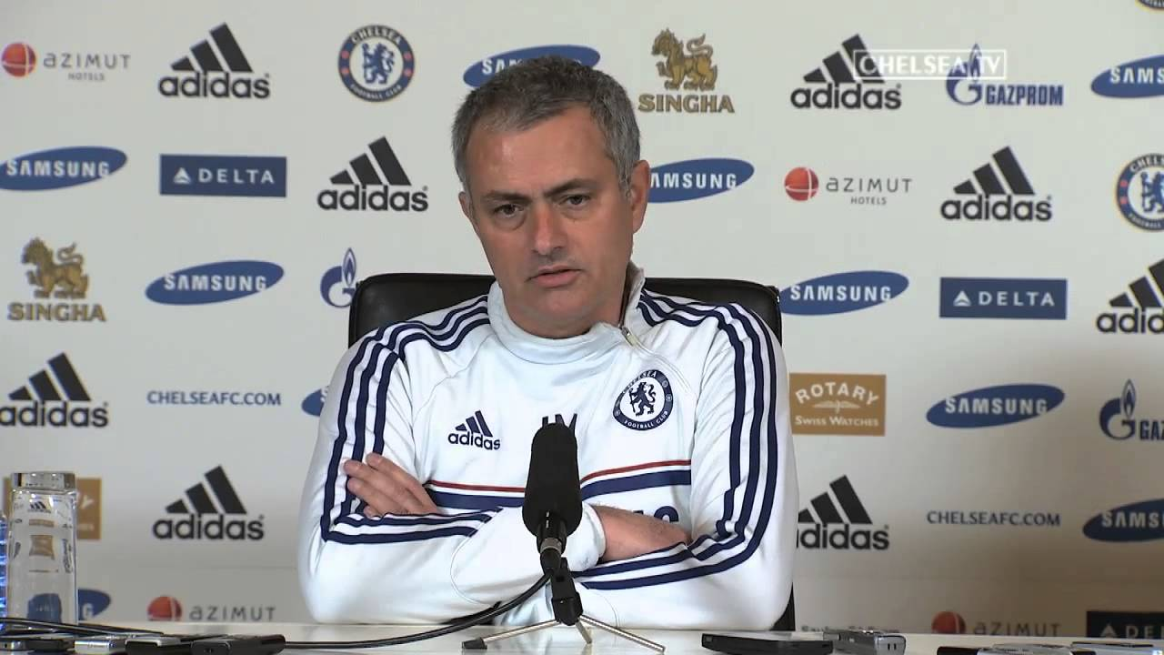 Press Conference: Mourinho Pre Derby - YouTube