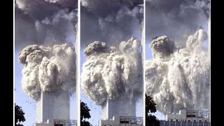 9/11 - World Trade Center ONE Collapsing - Super Slow Motion
