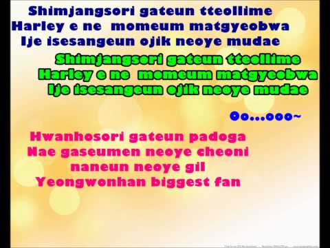 SNSD - Tell Me Your Wish - Genie - Instrumental Karaoke HD