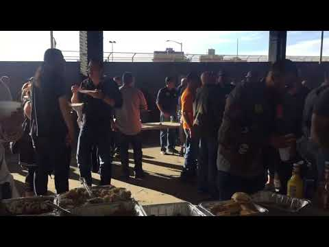 Yankees 2017 Massive Tailgate Party