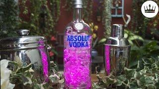 ABAJUR ABSOLUT: como fazer uma luminária com garrafa