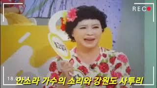 정자랑 집나온 아지매   -아침마당 출연-  명창가수 안소라(경자) 짠짜라 아줌마/추석날 KBS 1TV
