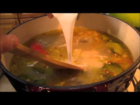 Thai Food Recipes: Thai Recipes Thai Coconut Chicken Soup: Tom Kha Gai Video or Tom Kha Kai