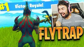 "FORTNITE NEW ""FLYTRAP"" Skin Gameplay.."