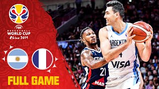 Argentina swarm France in a thrilling semi-final! - Full Game - FIBA Basketball World Cup 2019