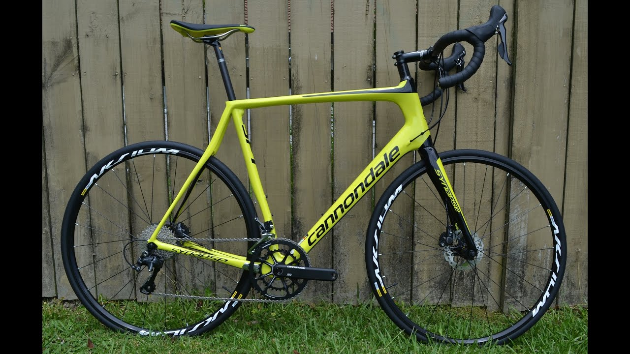 2016 Cannondale Synapse Disc Ultegra Youtube
