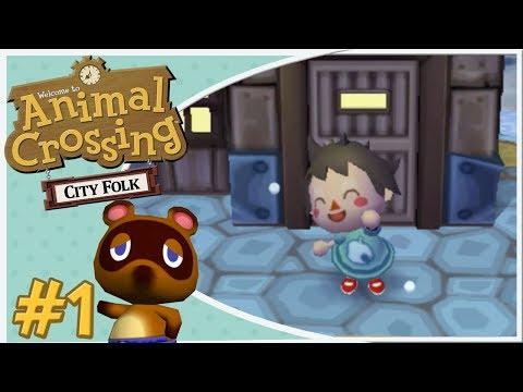 Animal Crossing: City Folk VS #1: Working for Nook ft. Pwnapplez