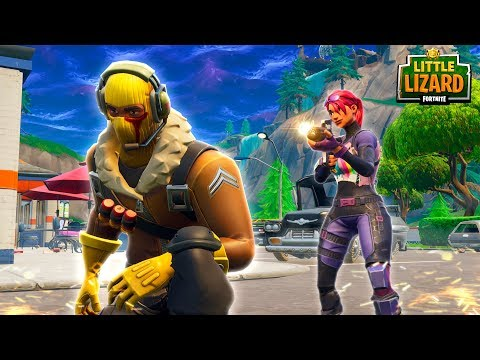 LITTLE KELLY KILLS RAPTOR! - Fortnite Short Film