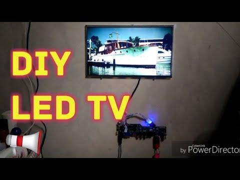 Membuat LED TV   #Bekas Layar Laptop