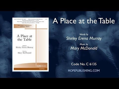 A Place at the Table - Shirley Erena Murray & Mary McDonald