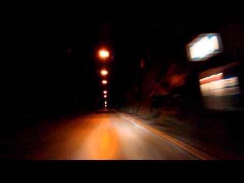 Øksfjordtunnelen, gjennomkjøring fra vestsiden 2011