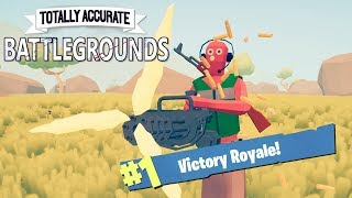 TOTALLY ACCURATE BATTLE GROUNDS!! [TABS BATTLE ROYALE]