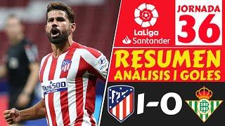 ATLETICO de MADRID vs REAL BETIS 1-0⚽️Resumen LIGA ESPAÑOLA hoy [LALIGA Santander JORNADA 36] 2020🔥