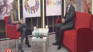 Sibel Arna Beautiful Turkish Tv Presenter 10.02.2013