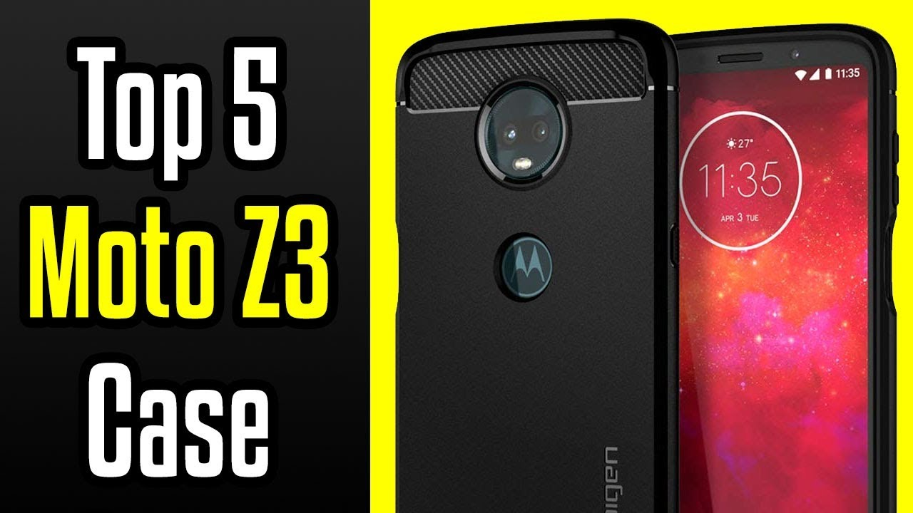 meet 8a937 639bd 🔻Top 5 Best Motorola Moto Z3 Cases!🔺