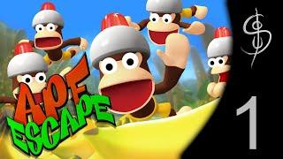 Let's Play Ape Escape (Playstation 1) #1 [PT]