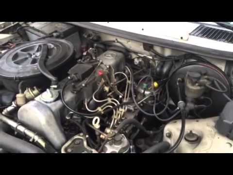 mercedes diesel 300d knocking and ticking sound engine