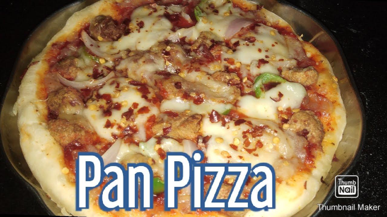 Soya Chunk Pizza homemade | ಸೋಯಾ ಬೀನ್ ಪಿಜ್ಜಾ