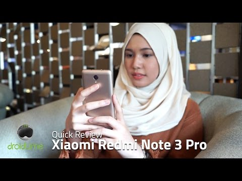 Xiaomi Redmi Note 3 Pro Quick Review