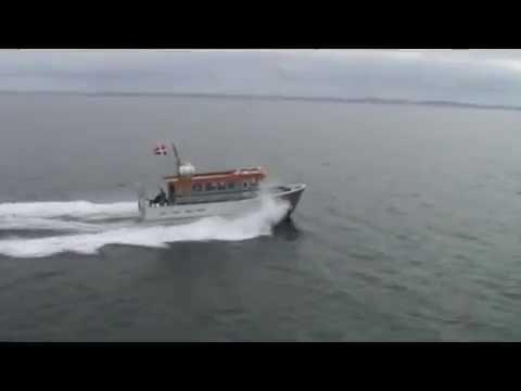Tjenestebåd - pasagerbåd på Christiansø
